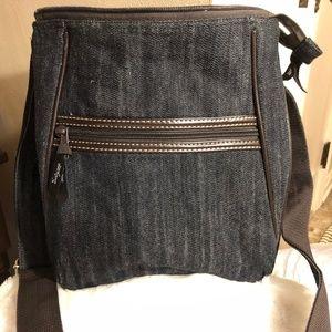 Thirty-One Denim Crossbody Bag